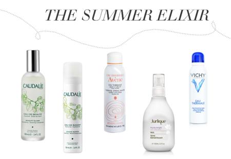 Aesthetic Online: summer beauty skincare, caudalie, avene, jurlique, vichy
