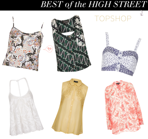 Aesthetic Online: topshop, high street picks, shopping edit