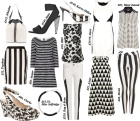 monochrome trend, SS13, aesthetic online, high street shopping