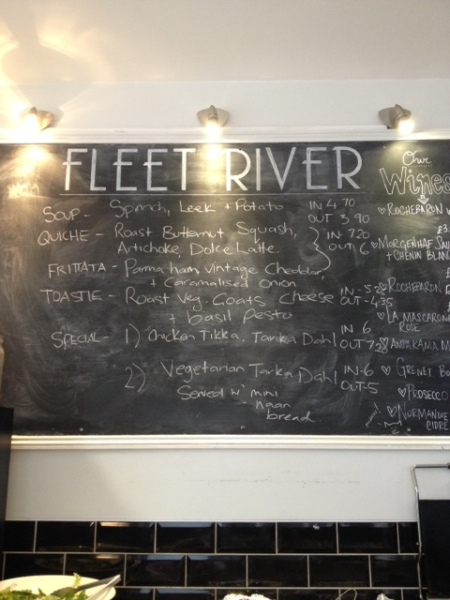 FLEET RIVER BAKERY BOARD